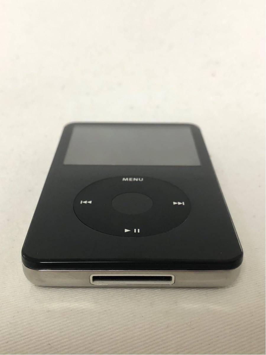 【ジャンク】iPod classic 第5世代 30GB ブラック MA146J/A_画像3