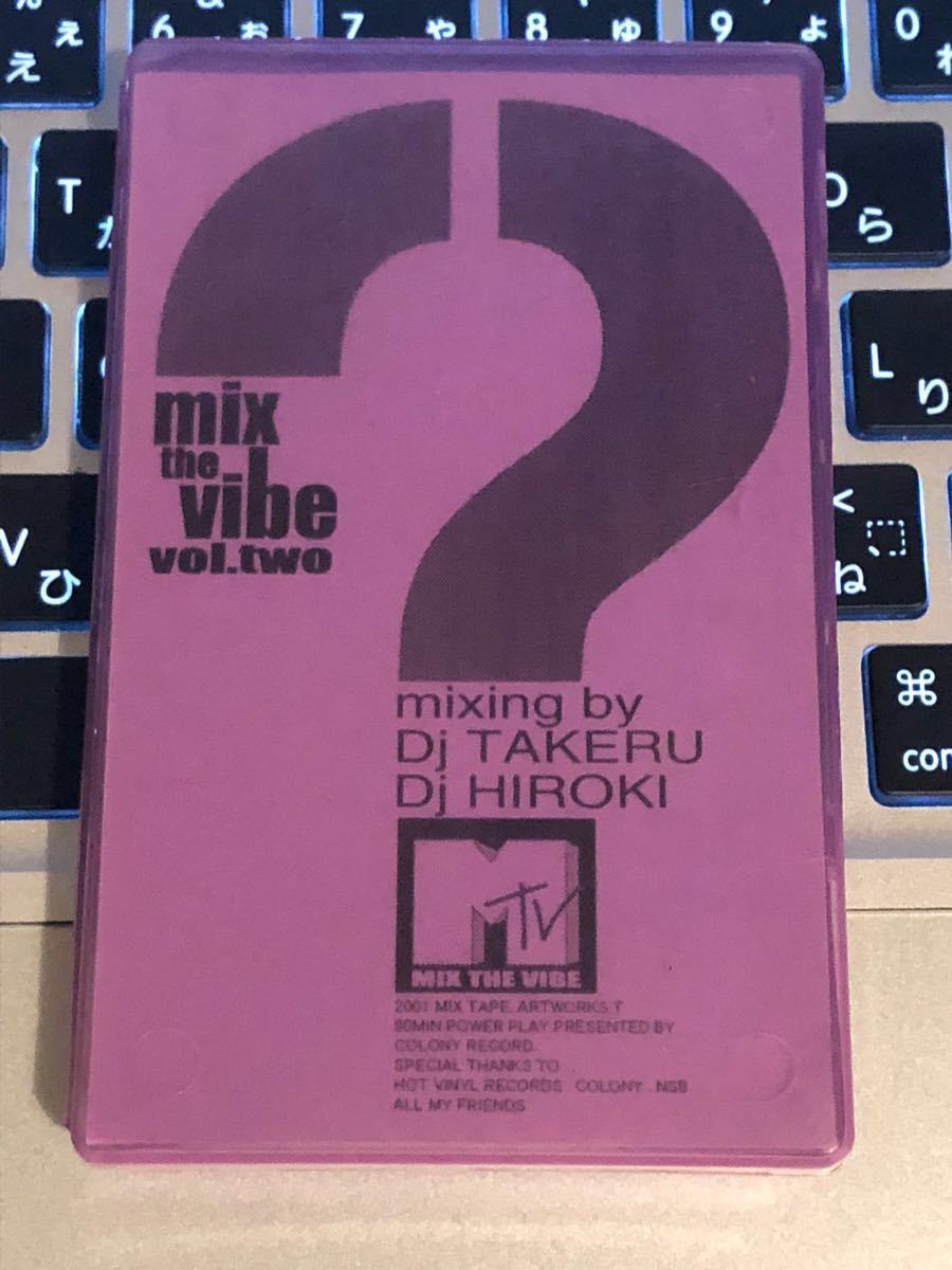 CD付 MIXTAPE DJ TAKERU HIROKI MIX THE VIBE★R&B KOMORI KAORI MURO KIYO KOCO_画像1