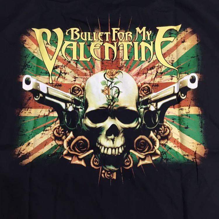 両面プリントバンドデザインスリーブレスシャツ ブレットフォーマイヴァレンタイン XXLサイズ BULLET FOR MY VALENTINE CCD4A