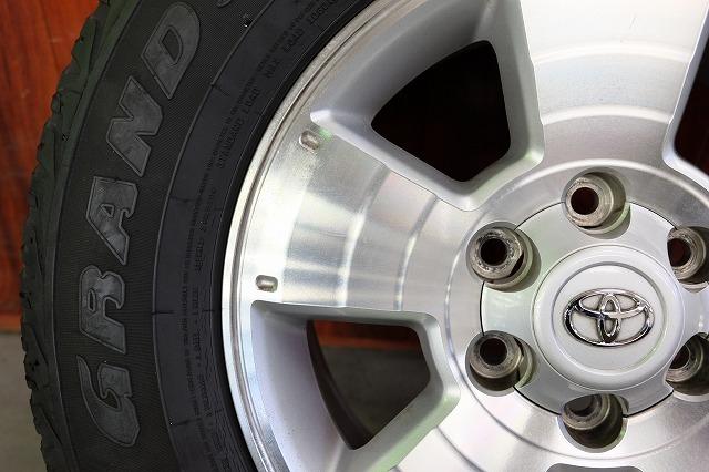 USトヨタ タコマ 純正 17インチ アルミ タイヤ セット_画像6