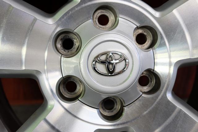 USトヨタ タコマ 純正 17インチ アルミ タイヤ セット_画像7
