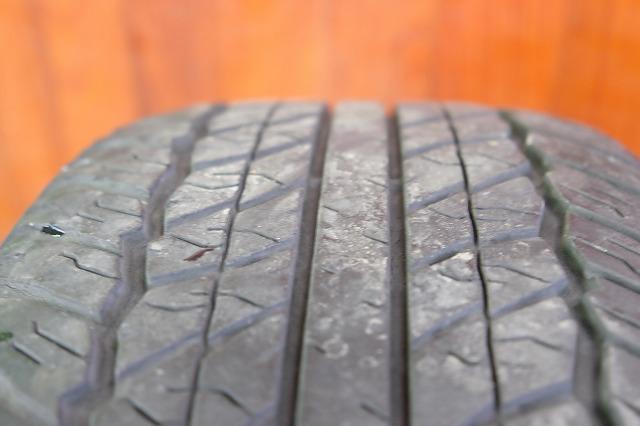 USトヨタ タコマ 純正 17インチ アルミ タイヤ セット_画像9
