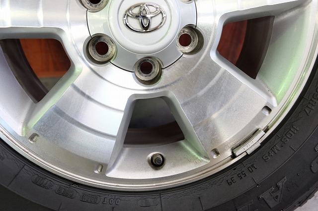 USトヨタ タコマ 純正 17インチ アルミ タイヤ セット_画像5
