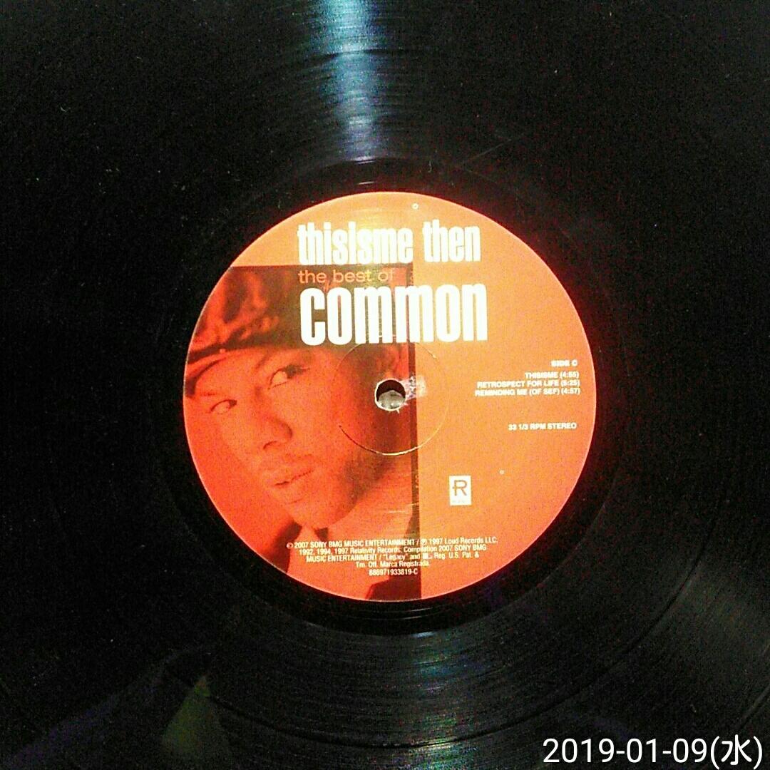 us盤見開きジャケ2LP COMMON / thisisme then the best of COMMON_画像7