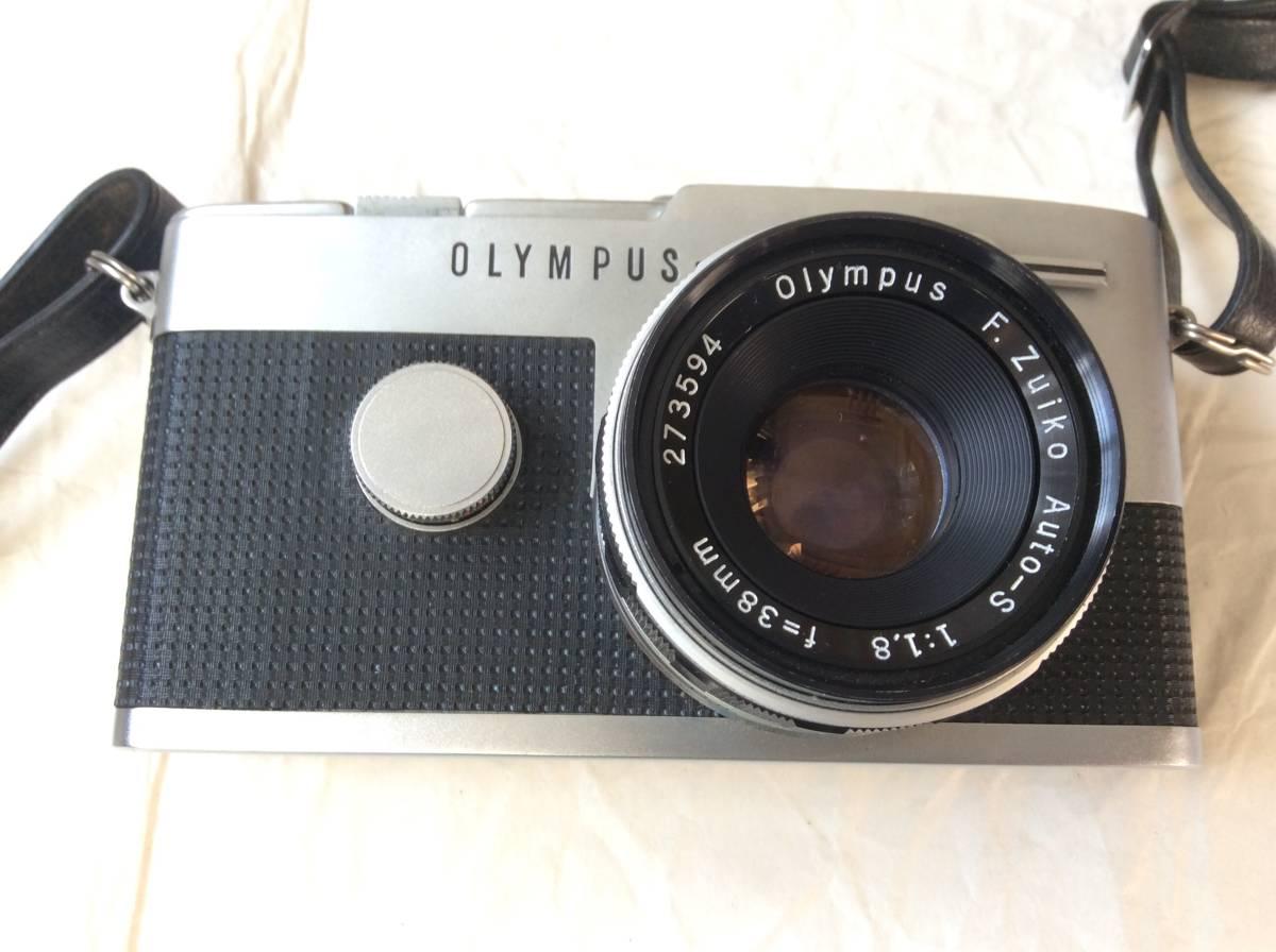 OLYMPUS オリンパス PEN-FT /レンズ F.Zuiko Auto-S 1:1.8 f=38㎜/ケース付き♪_画像2