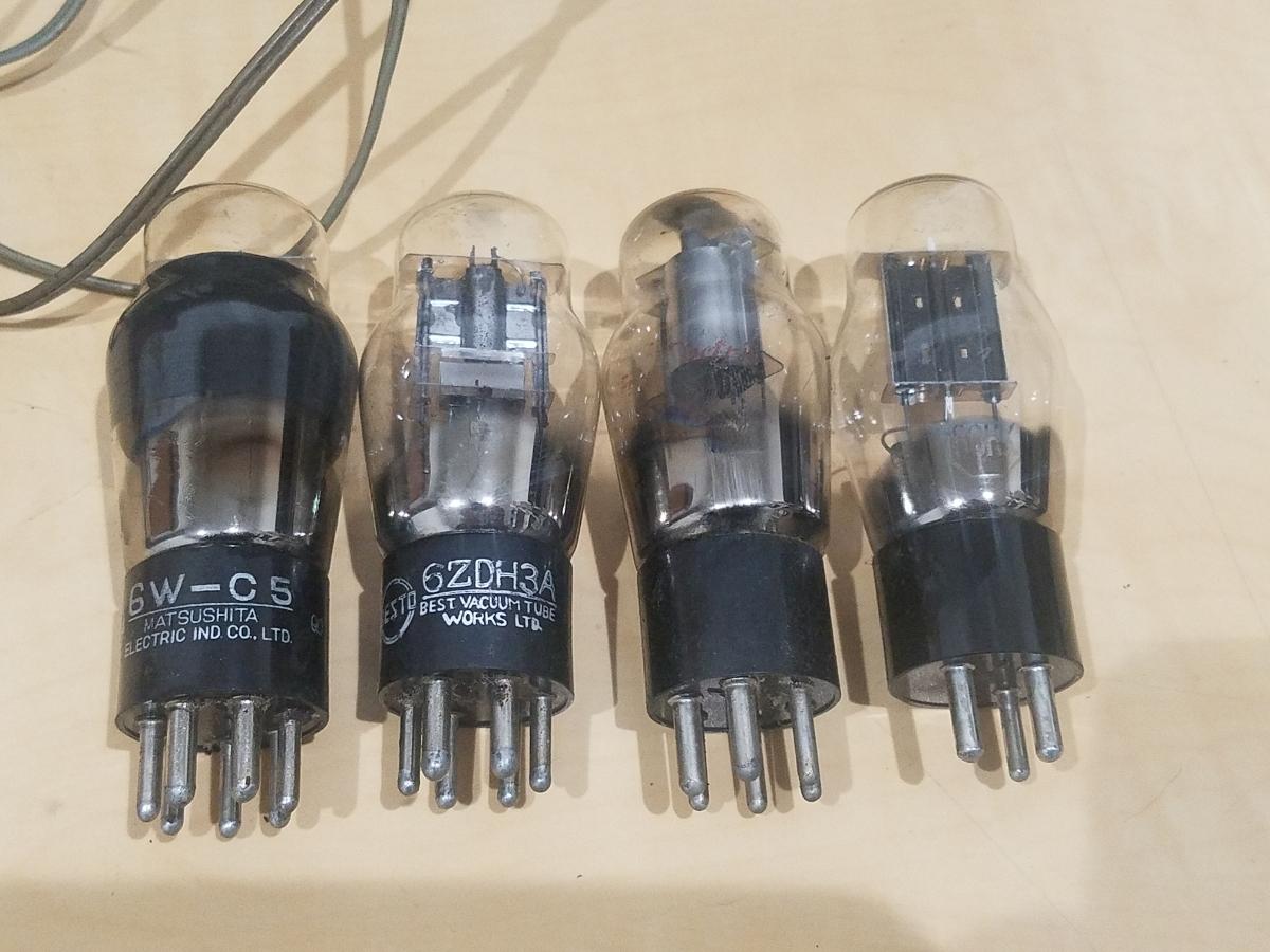 真空管 ラジオ Super Radio STANDARD BROADCAST SO-80 ジャンク_画像2