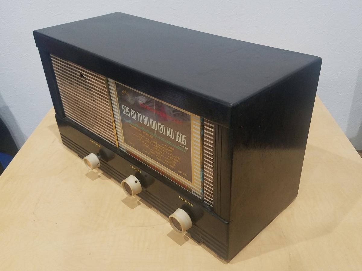 真空管 ラジオ Super Radio STANDARD BROADCAST SO-80 ジャンク_画像4