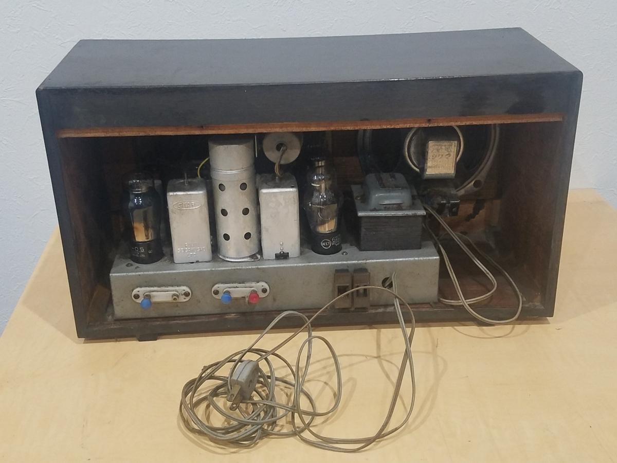 真空管 ラジオ Super Radio STANDARD BROADCAST SO-80 ジャンク