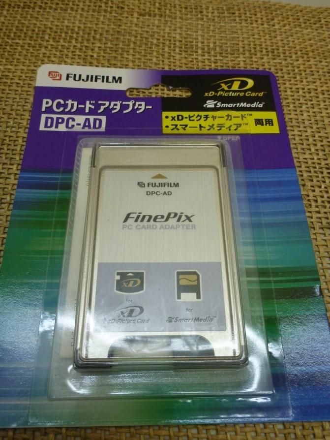 ■大阪 堺市 引き取り歓迎!■新品■富士フィルム フジフィルム PCカード アダプター DPC-AD 送料180円■