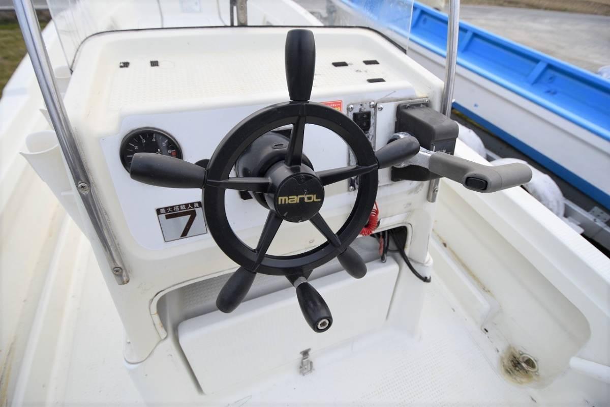 ☆★船屋.com 冬の特選艇☆★YAMAHA U-23BF 4st 50ps HONDA船外機艇!!_画像7