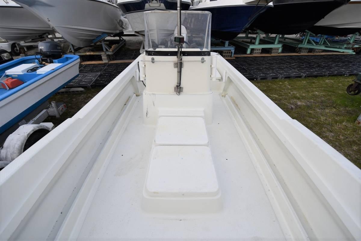 ☆★船屋.com 冬の特選艇☆★YAMAHA U-23BF 4st 50ps HONDA船外機艇!!_画像6