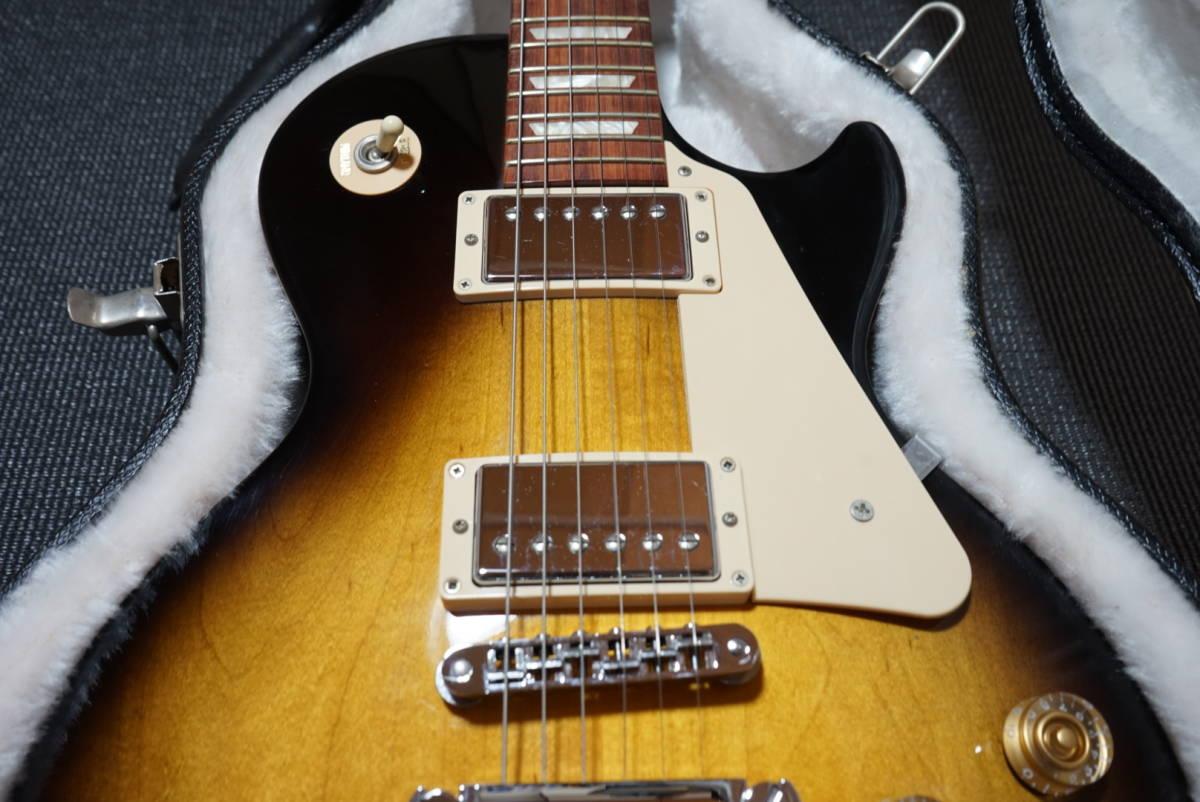 大幅値引き中! 美品 2013年製 Gibson Les Paul studio Vintage Sunburst ハードケース付き!着払い発送