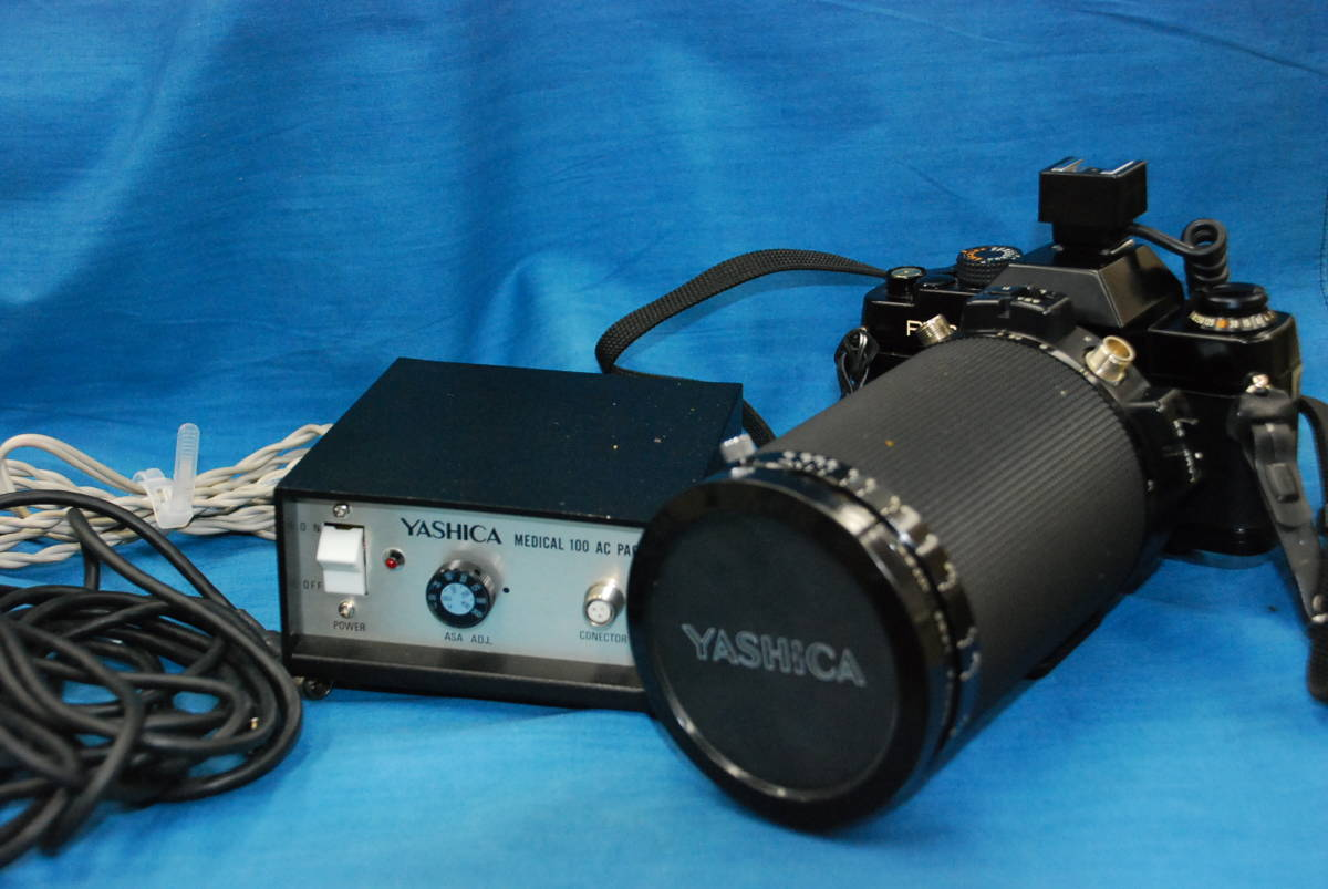 CONTAX RTS ・ YASHICA LENS 100mm 1:4 MEDICAL 100DX 完動品