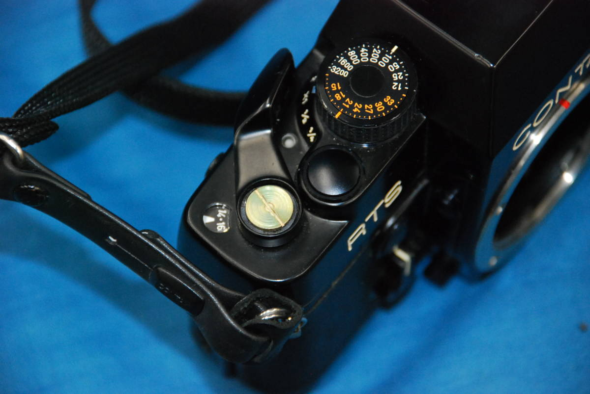 CONTAX RTS ・ YASHICA LENS 100mm 1:4 MEDICAL 100DX 完動品_画像4