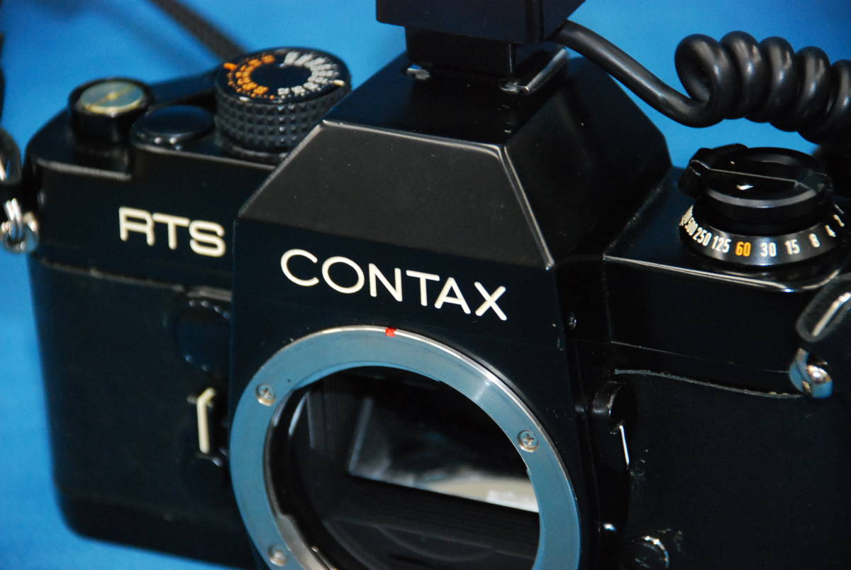 CONTAX RTS ・ YASHICA LENS 100mm 1:4 MEDICAL 100DX 完動品_画像9