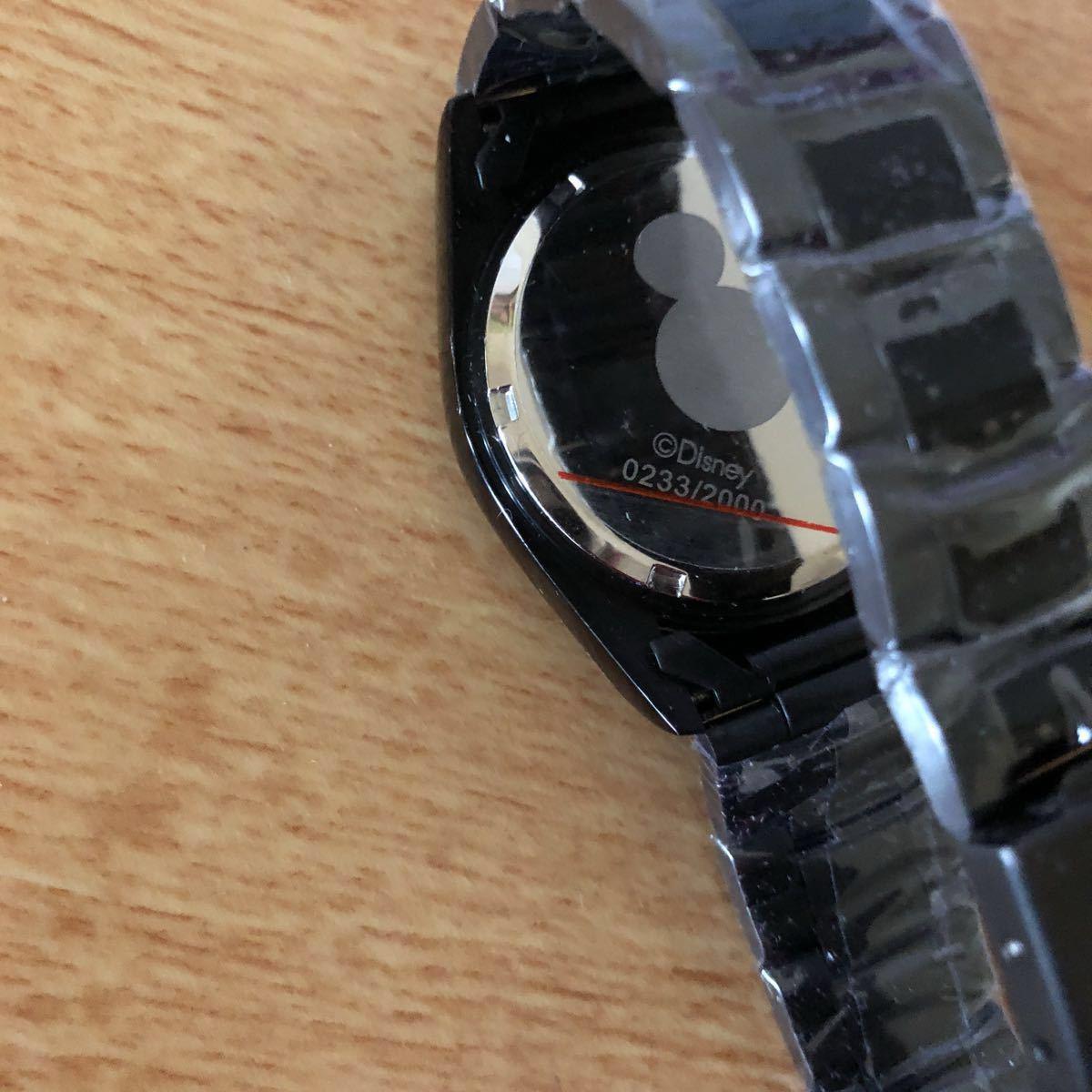 超プレミアム 世界限定モデル ミッキーマウス ダイヤモンド13石 腕時計 ロレックスタイプ ブラック未使用品 豪華オマケ付き_画像3