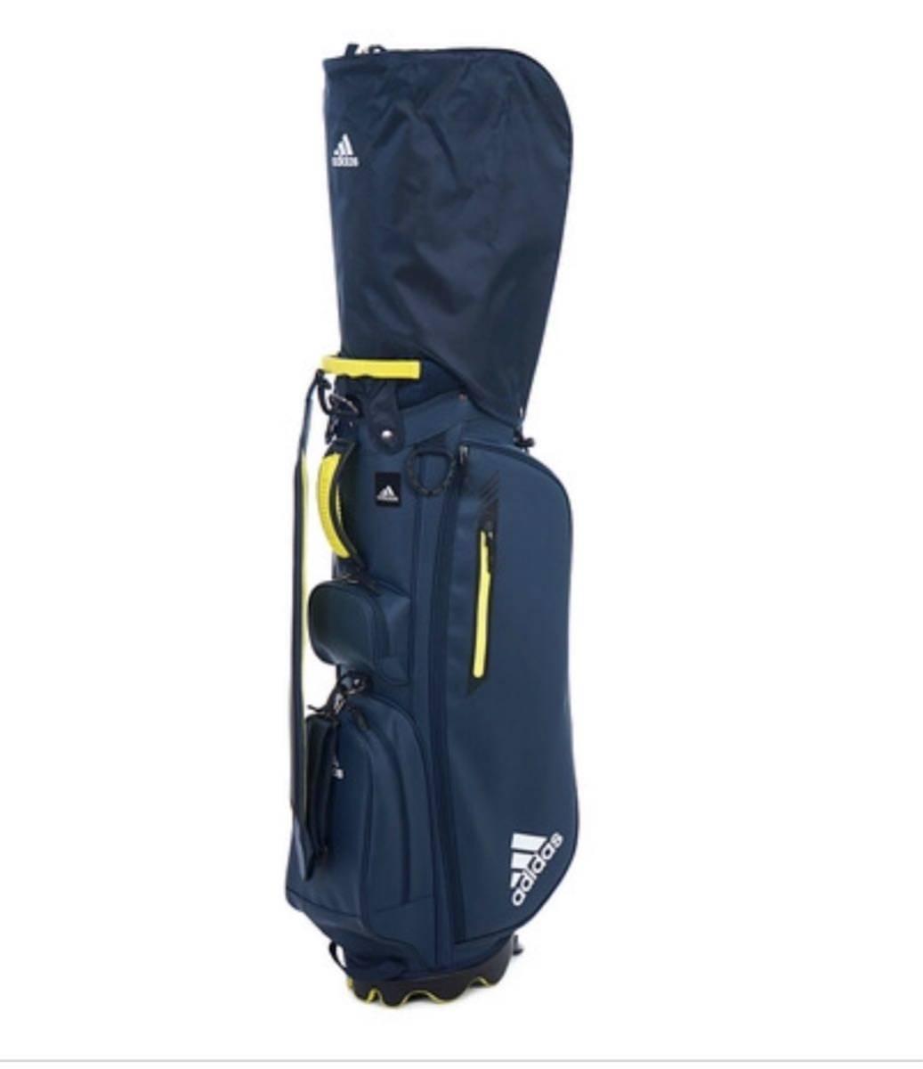 未使用品 アディダス adidas ゴルフ スタンド付き キャディバッグ ネイビー_画像6