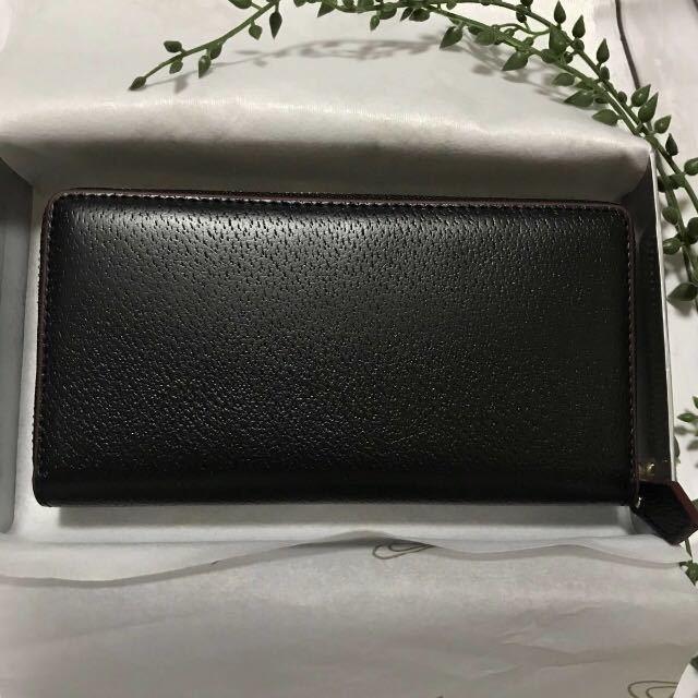 0cefa77530db 代購代標第一品牌- 樂淘letao - 新品未使用Vivienne Westwood ヴィヴィアンウエストウッドブランド財布ブラック黒