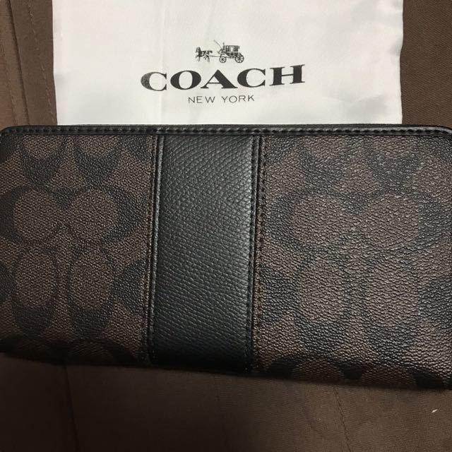 28b3abd88549 代購代標第一品牌- 樂淘letao - コーチ長財布新品coach ブラウンブラック