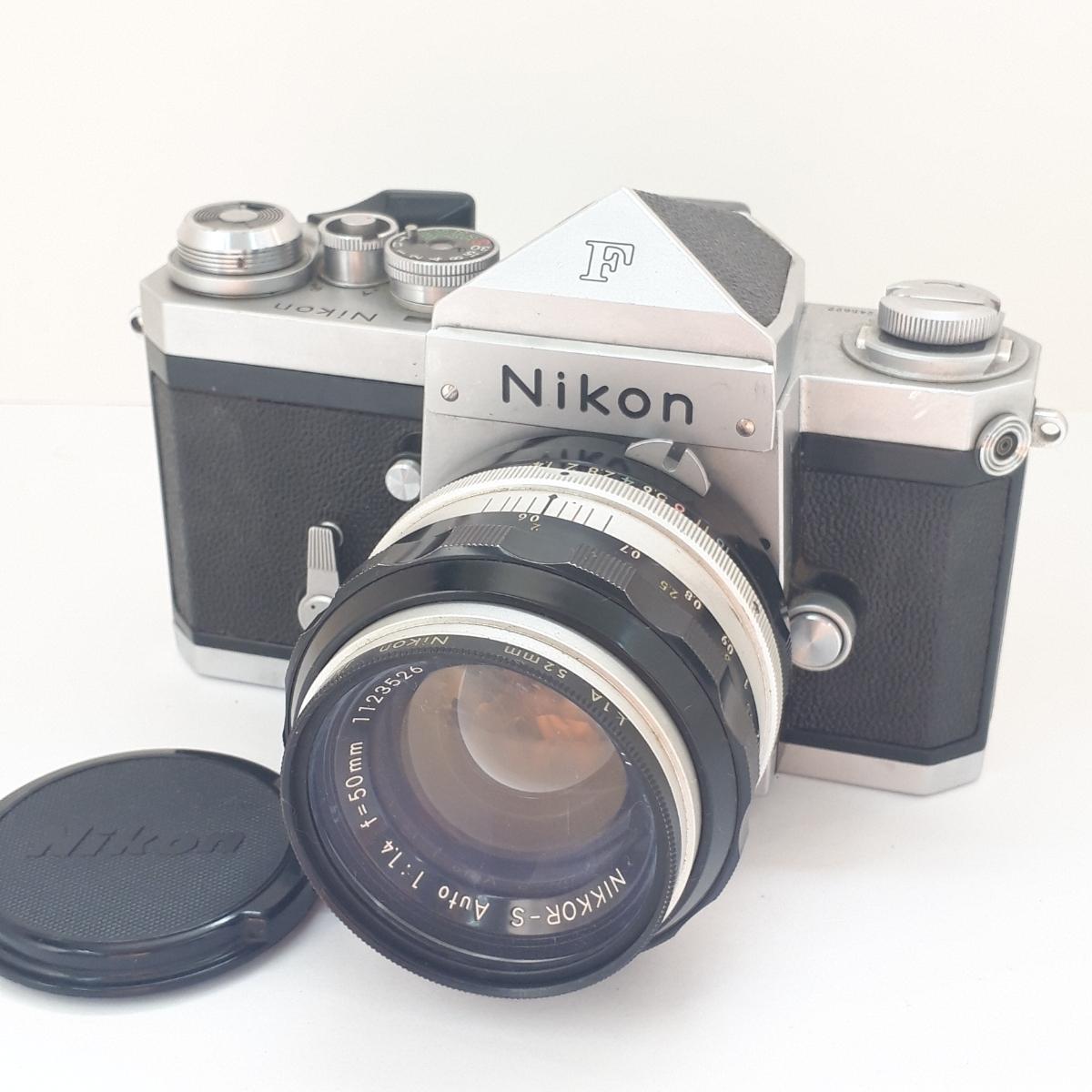 ★NIKON ニコン F NIKKOR-S 1:1.4 50mm 一眼レフカメラ レンズ★