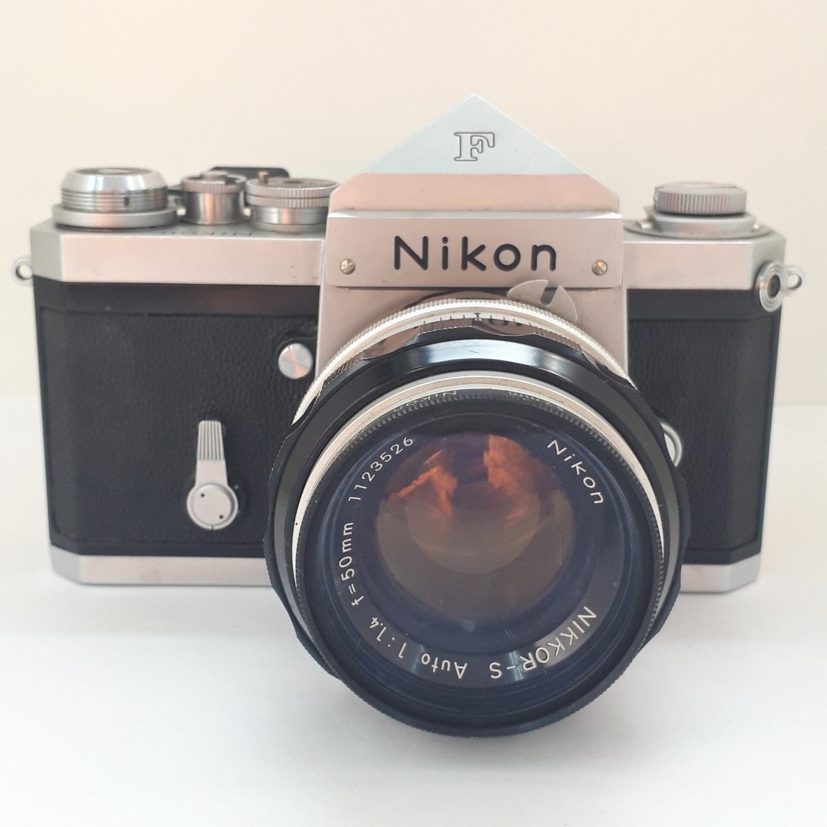 ★NIKON ニコン F NIKKOR-S 1:1.4 50mm 一眼レフカメラ レンズ★_画像2