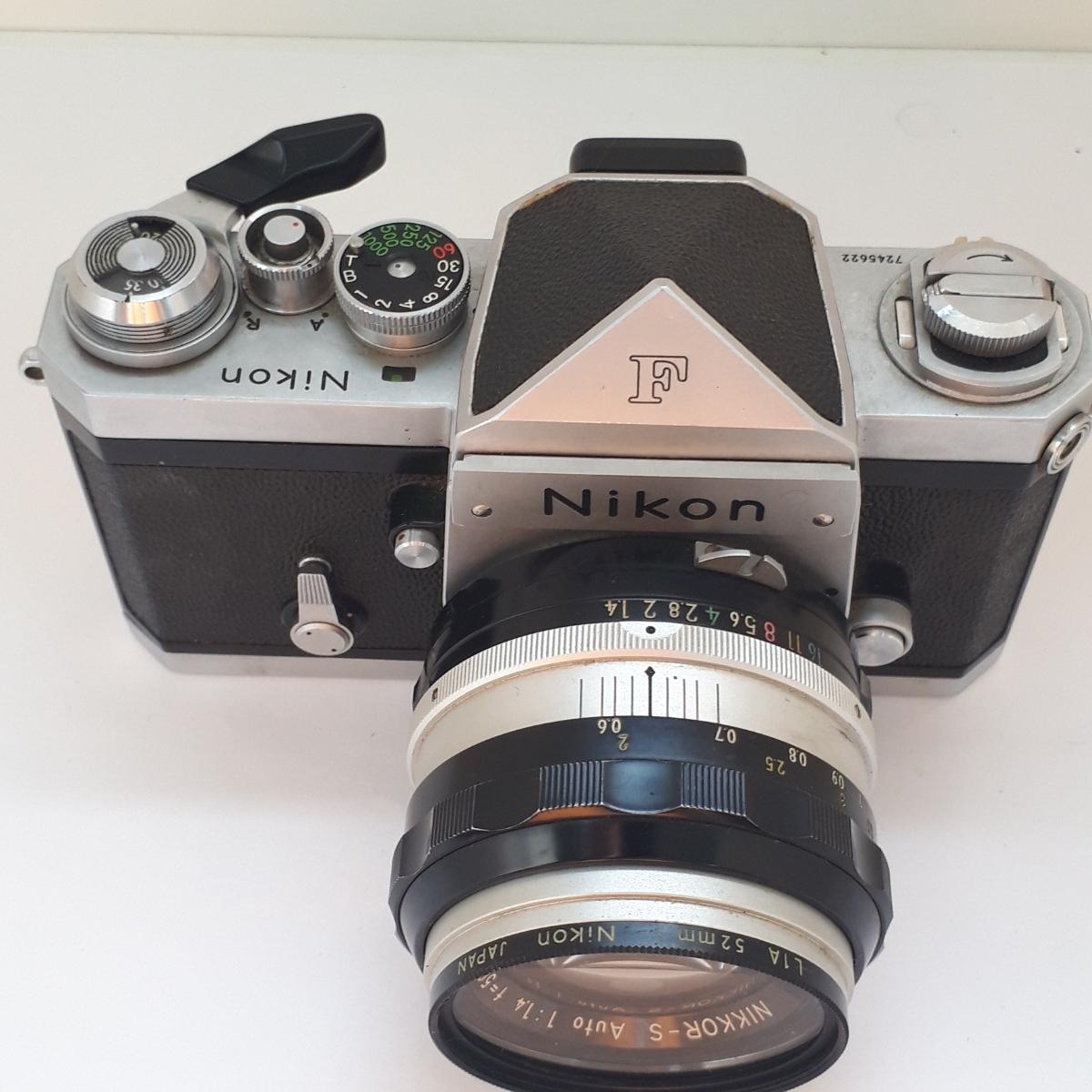 ★NIKON ニコン F NIKKOR-S 1:1.4 50mm 一眼レフカメラ レンズ★_画像5