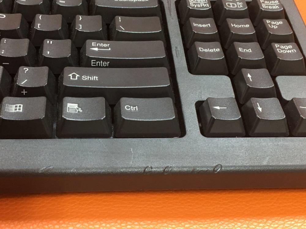 ★IBM PS/2 キーボード RT3200 テンキーレス PD付き_画像2