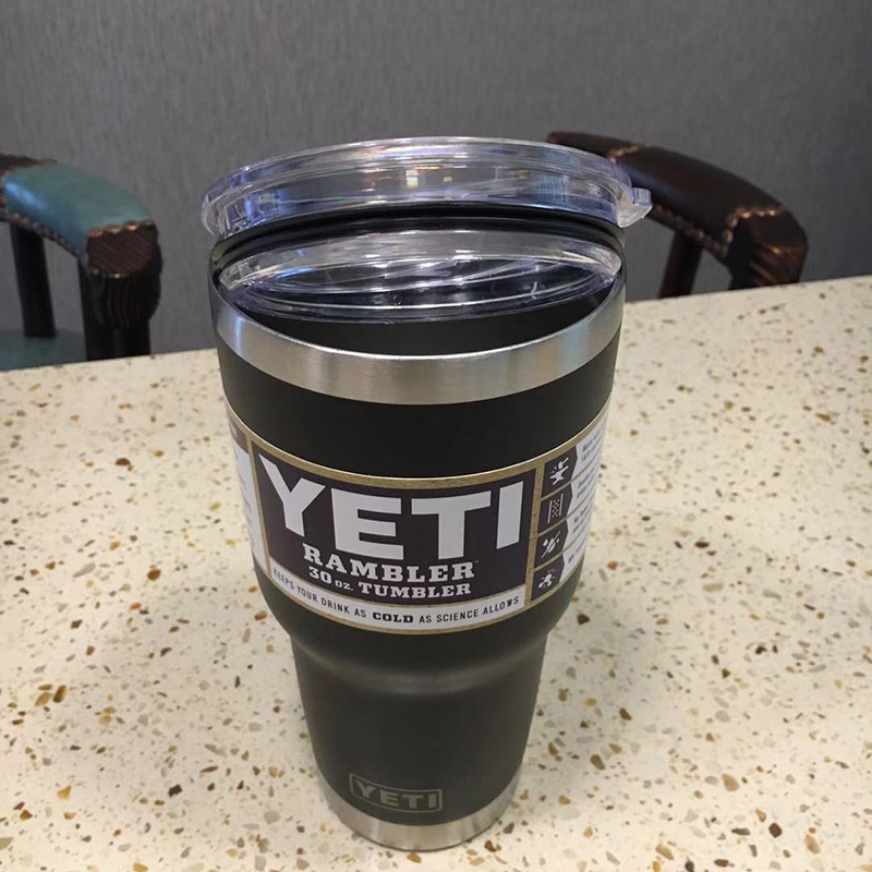 3個組YETI 1個18oz & 2個30oz black真空断熱 保温/冷 タンブラー★イエティ RAMBLER Bottle Tumbler ミリタリー水筒304食用ステンレス_画像4