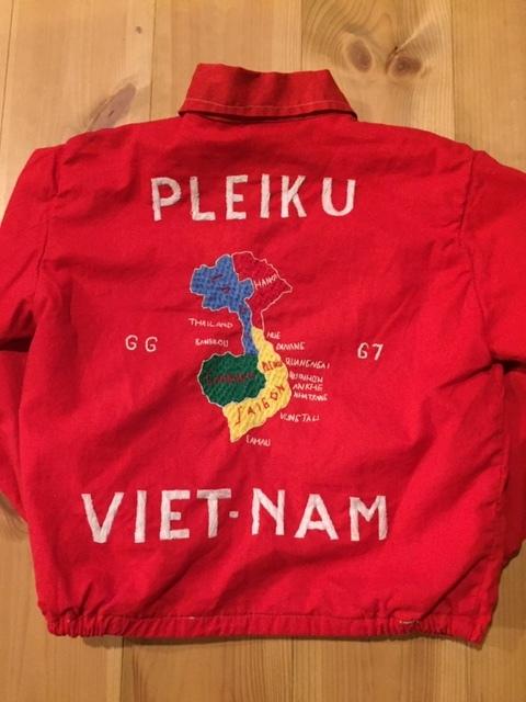 60's VIETNAM JACKET/ベトナムジャケット ベトジャン SOUVENIR JACKET/スーベニアジャケット KIDS/キッズ 赤_画像3