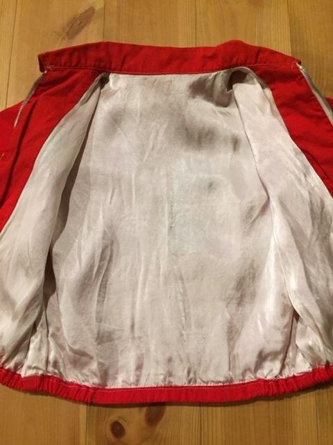 60's VIETNAM JACKET/ベトナムジャケット ベトジャン SOUVENIR JACKET/スーベニアジャケット KIDS/キッズ 赤_画像5