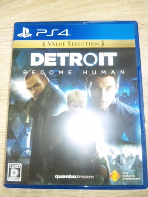 ※ PS4 デトロイト - DETROIT BECOME HUMAN ※ 新品同様 - 送料無料!!
