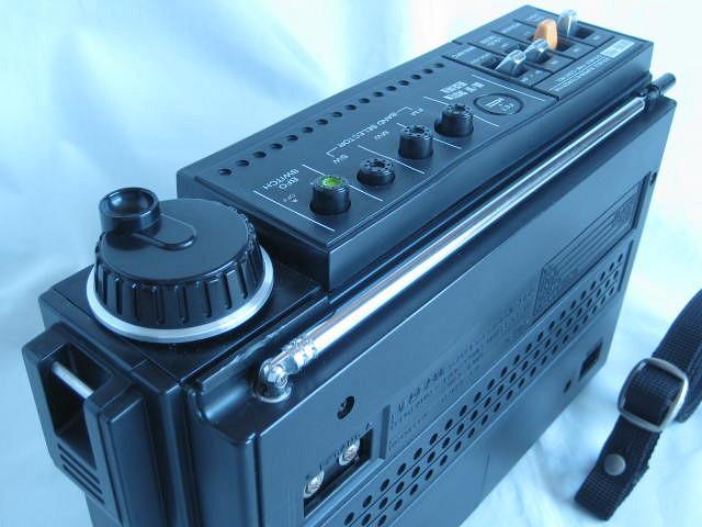 BCL 極上品 三菱 ジーガム505(JP-505) JEAGAM505 完全動作調整済品 レアモノ 短波重装備 高感度高性能 昭和トランジスタラジオ_画像9
