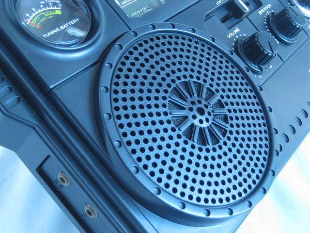 BCL 極上品 三菱 ジーガム505(JP-505) JEAGAM505 完全動作調整済品 レアモノ 短波重装備 高感度高性能 昭和トランジスタラジオ_画像4