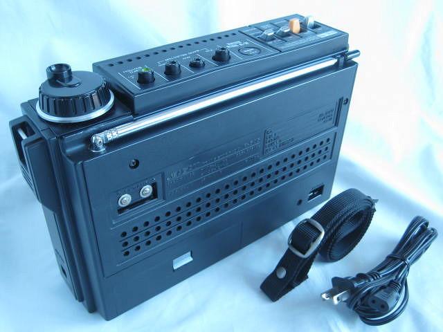 BCL 極上品 三菱 ジーガム505(JP-505) JEAGAM505 完全動作調整済品 レアモノ 短波重装備 高感度高性能 昭和トランジスタラジオ_画像6