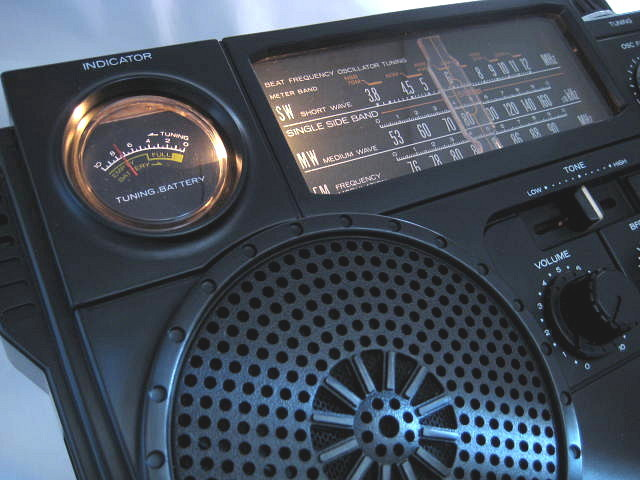 BCL 極上品 三菱 ジーガム505(JP-505) JEAGAM505 完全動作調整済品 レアモノ 短波重装備 高感度高性能 昭和トランジスタラジオ_画像2