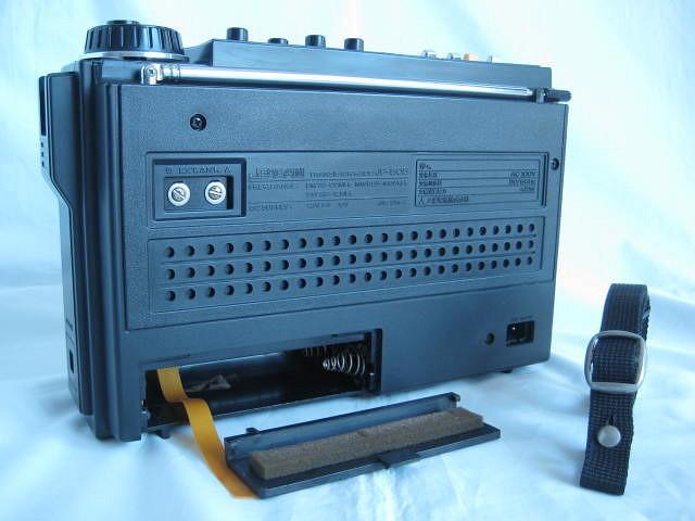 BCL 極上品 三菱 ジーガム505(JP-505) JEAGAM505 完全動作調整済品 レアモノ 短波重装備 高感度高性能 昭和トランジスタラジオ_画像10