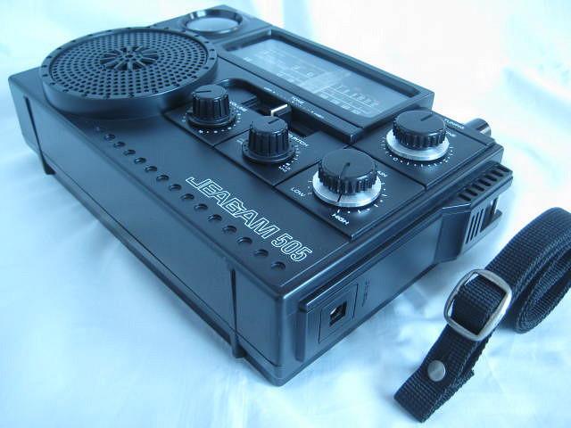 BCL 極上品 三菱 ジーガム505(JP-505) JEAGAM505 完全動作調整済品 レアモノ 短波重装備 高感度高性能 昭和トランジスタラジオ_画像8