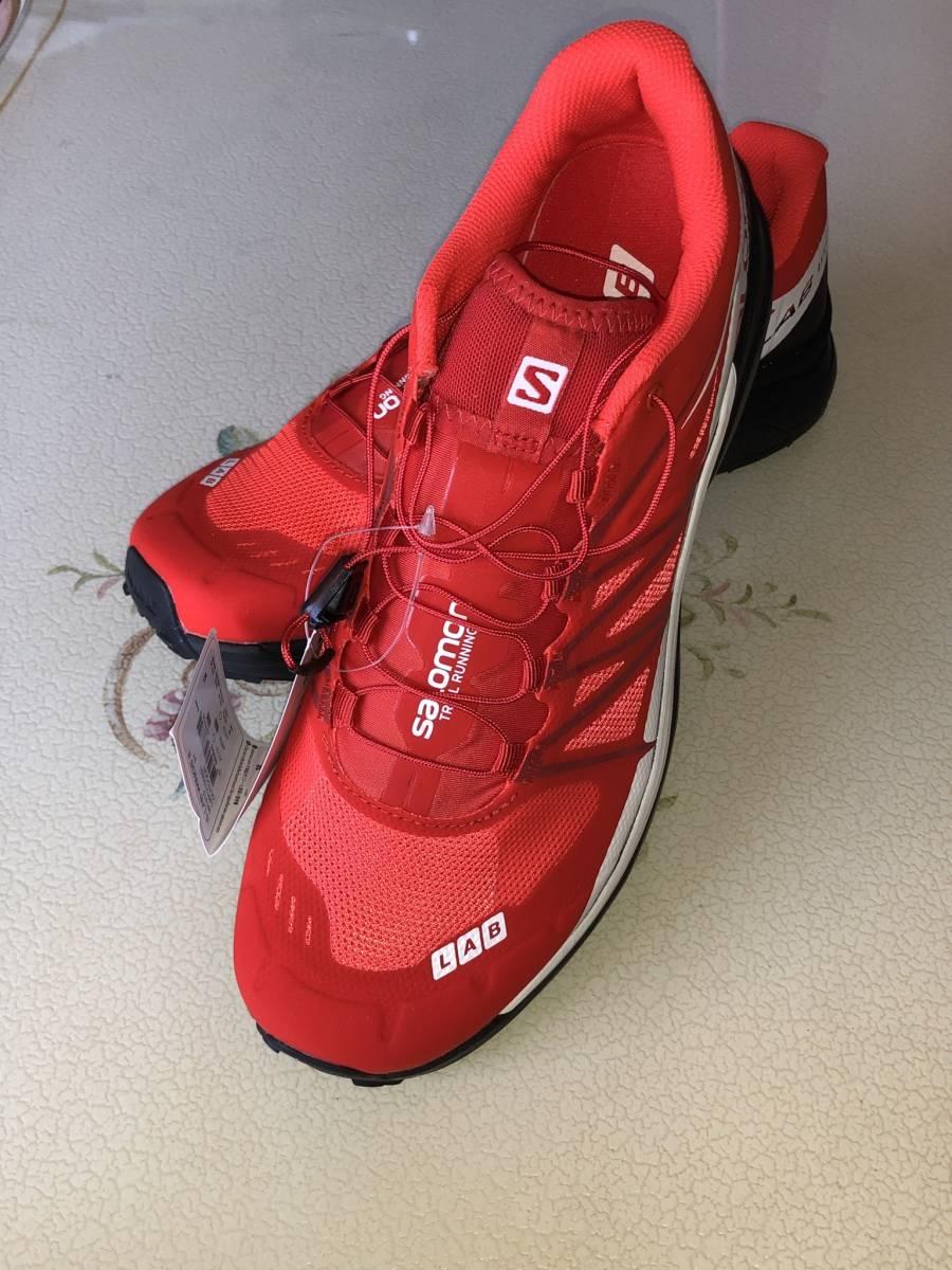 SALOMON S-LAB WINGS 8 RACING RED BLACK WHITE... - ヤフオク! 1c9661968c6