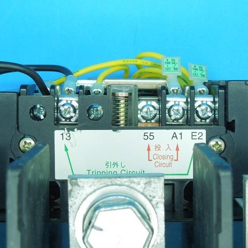 SL-N400 AC100V 機械ラッチ式電磁接触器 三菱電機 ランクB中古品_画像3