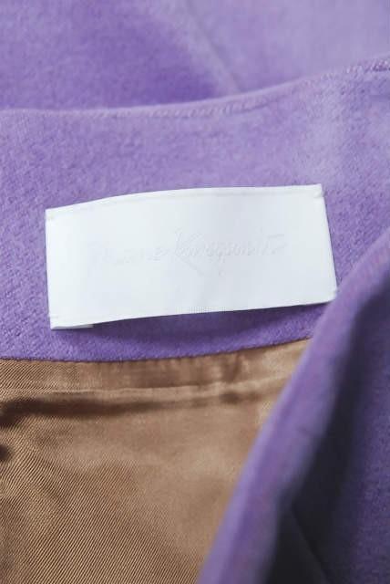 mame マメ 17AW 日本製 シルクウールハイウエストスカート MM17AW-SK060 1 ラベンダー Mame Kurogouchi | lc25799_画像4