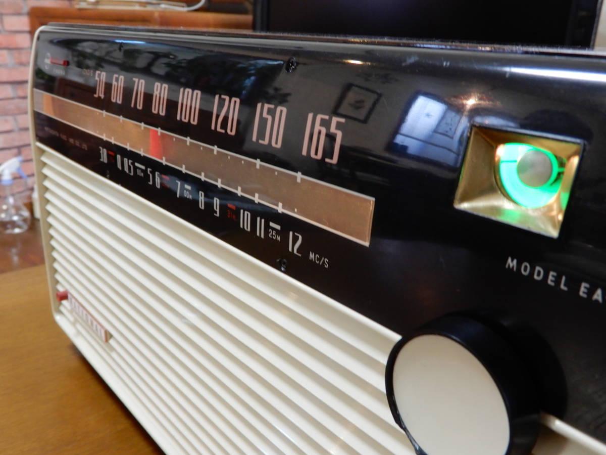真空管ラジオ ナショナル EA-670型 【整備済】_画像4