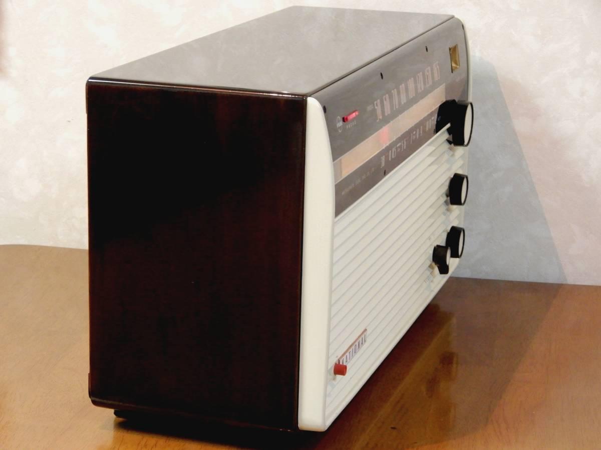 真空管ラジオ ナショナル EA-670型 【整備済】_画像6
