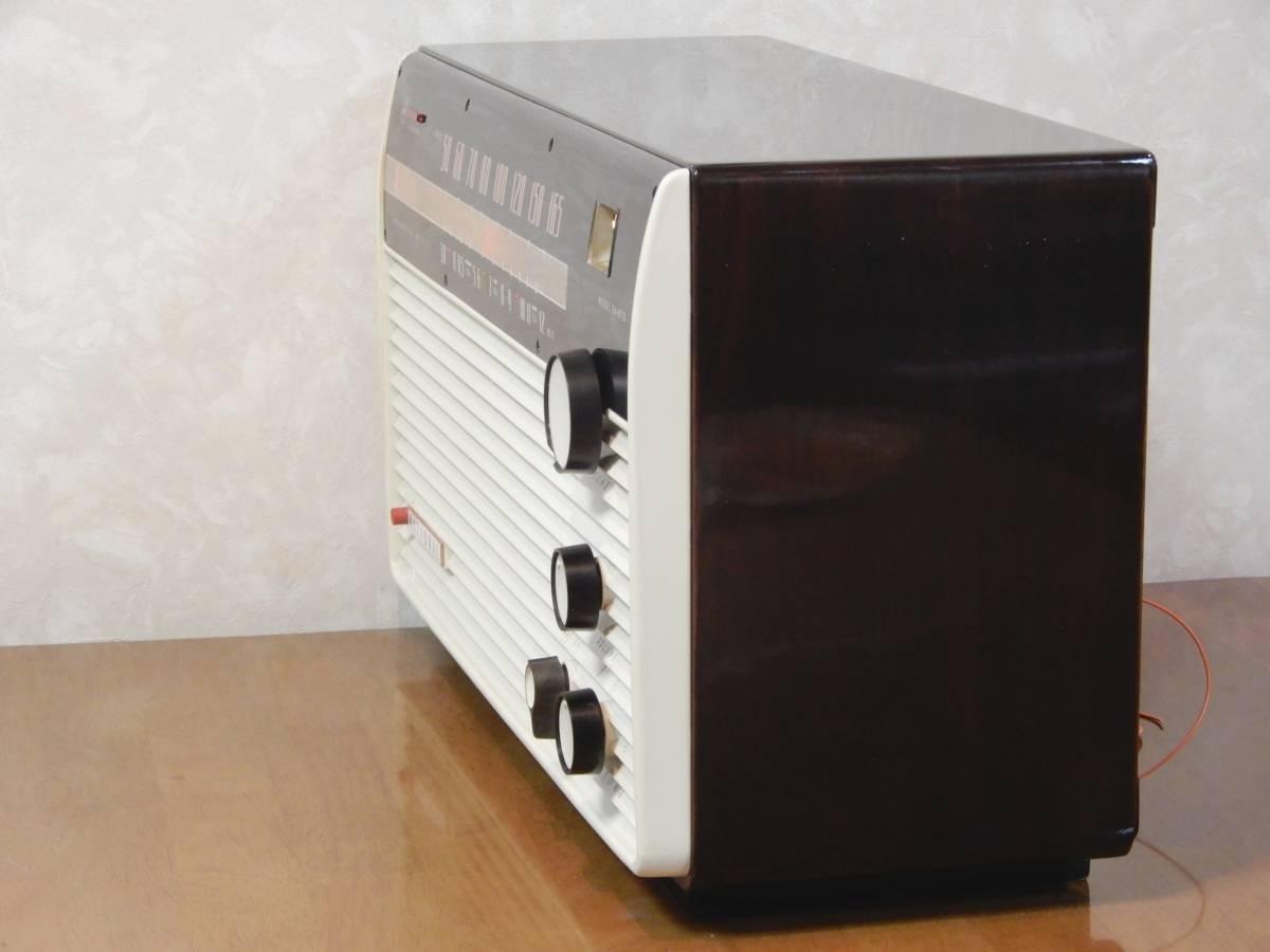 真空管ラジオ ナショナル EA-670型 【整備済】_画像7