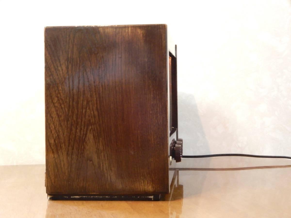 真空管ラジオ ナショナル QS-600型 【整備済】_画像6