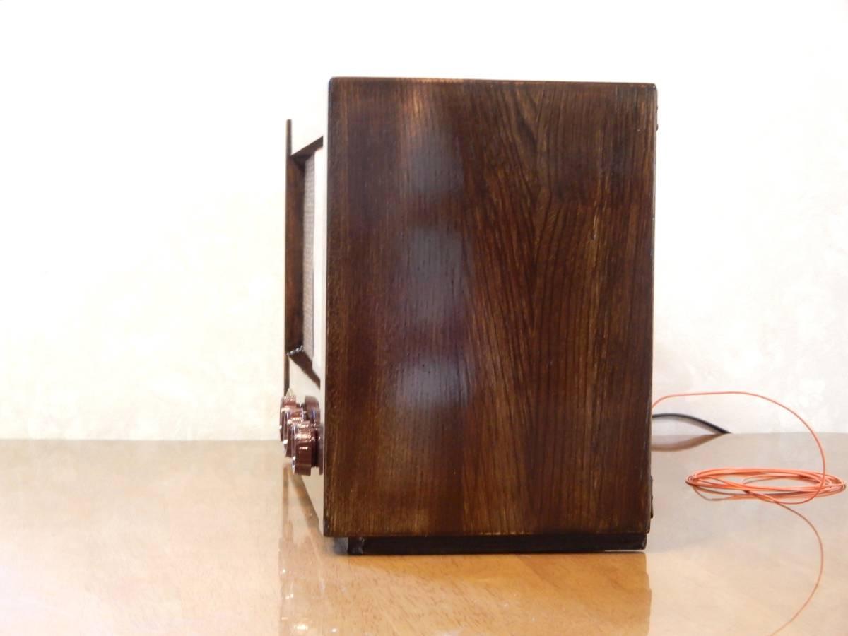 真空管ラジオ ナショナル QS-600型 【整備済】_画像7