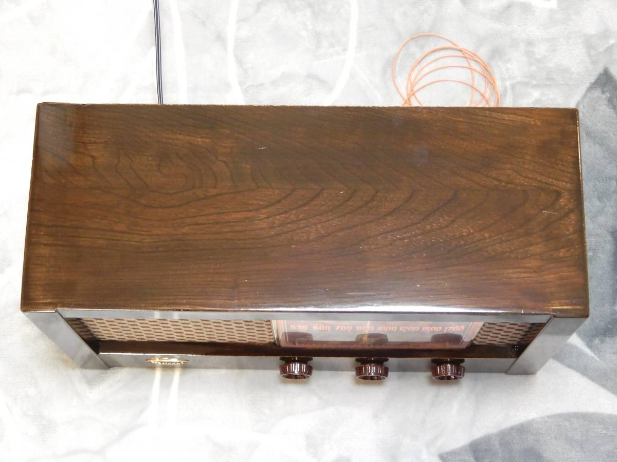 真空管ラジオ ナショナル QS-600型 【整備済】_画像8