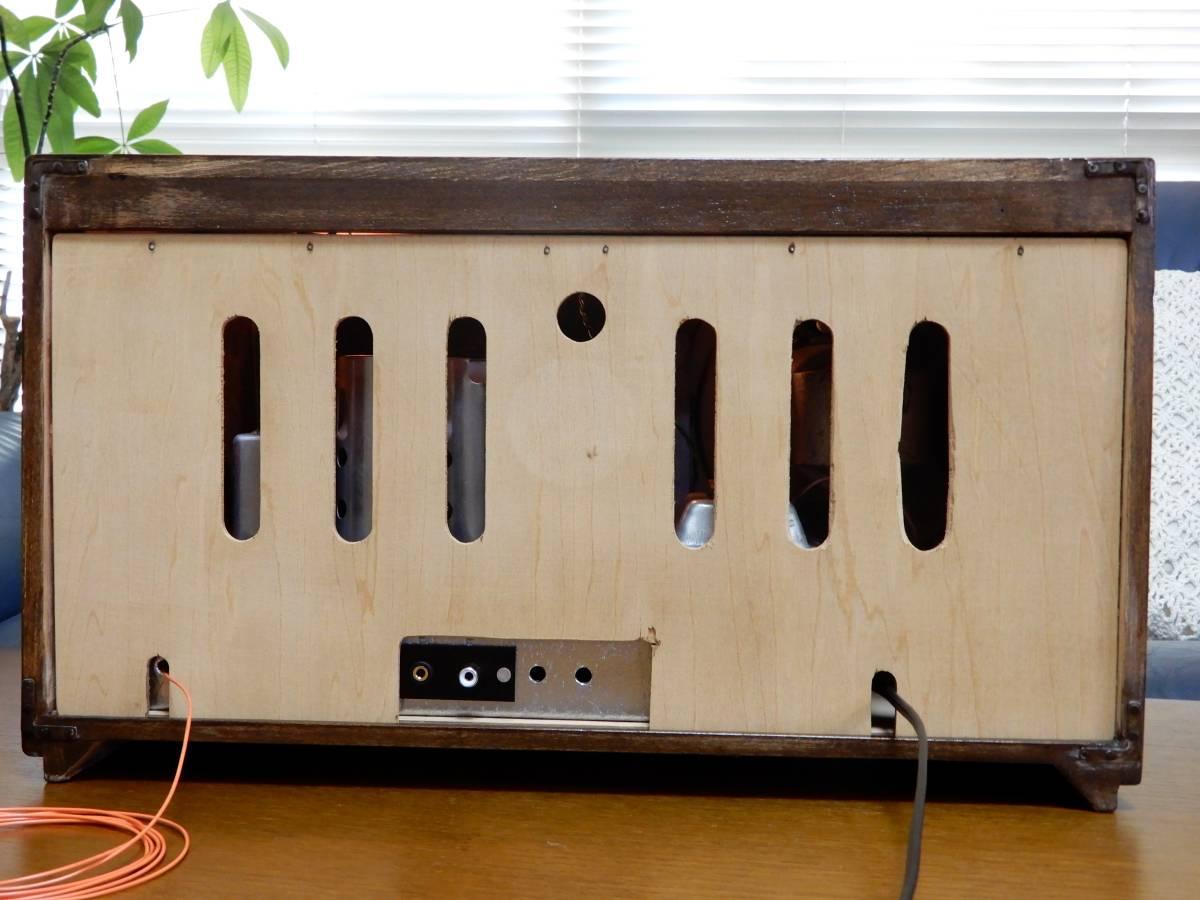 真空管ラジオ ナショナル QS-600型 【整備済】_画像9