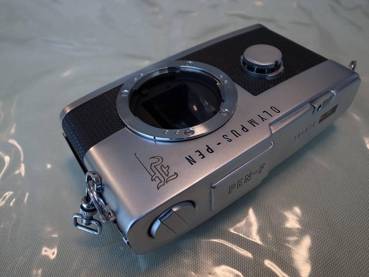 ★初期型★ オリンパス ペンF ズイコー 38mm F1.8付き OLYMPUS PEN-F PEN zuiko 38mm F1.8 _画像5