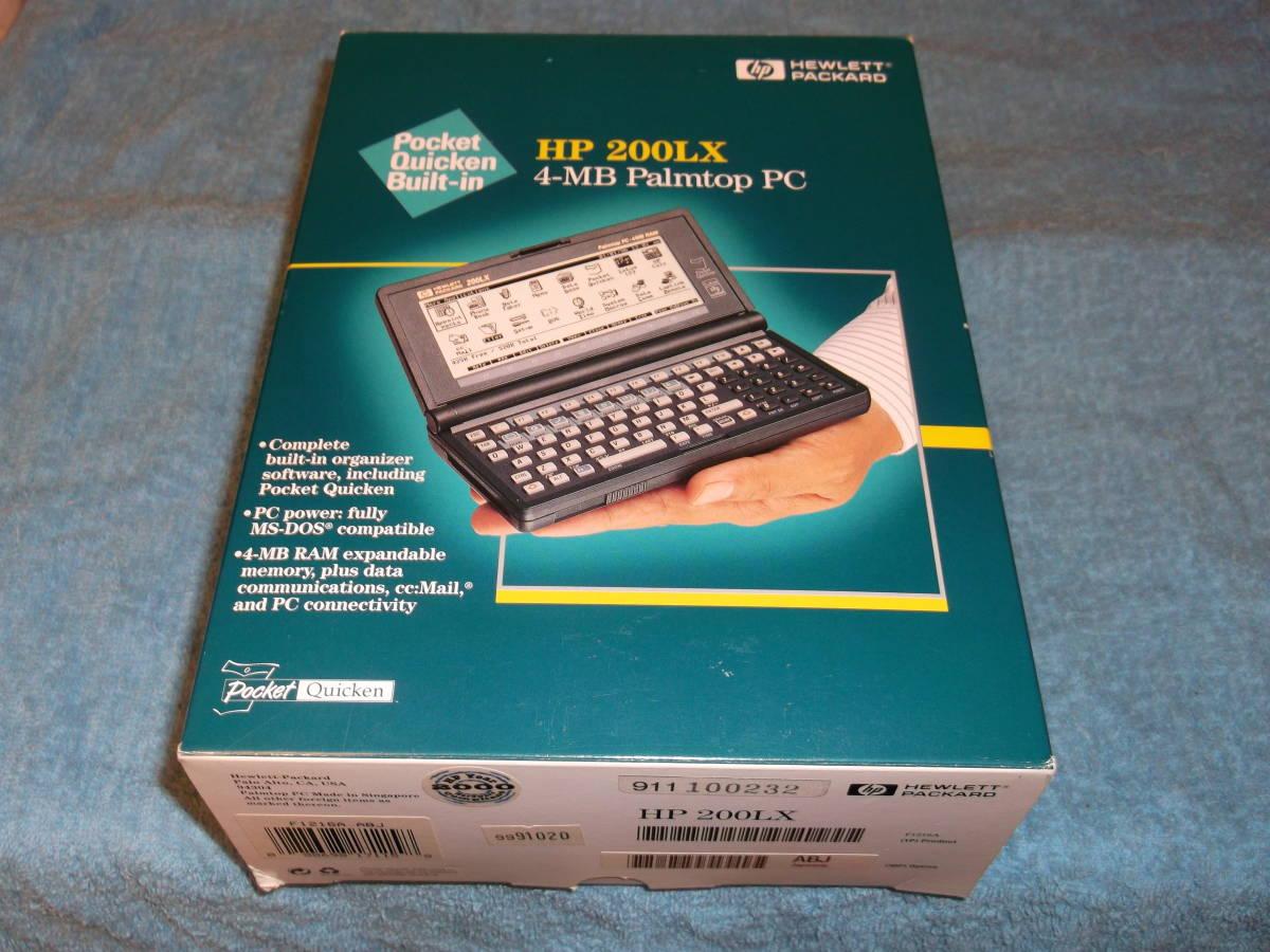 保存品☆Palmtop PC HP200LX(F1216A ABJ) 4MB RAM