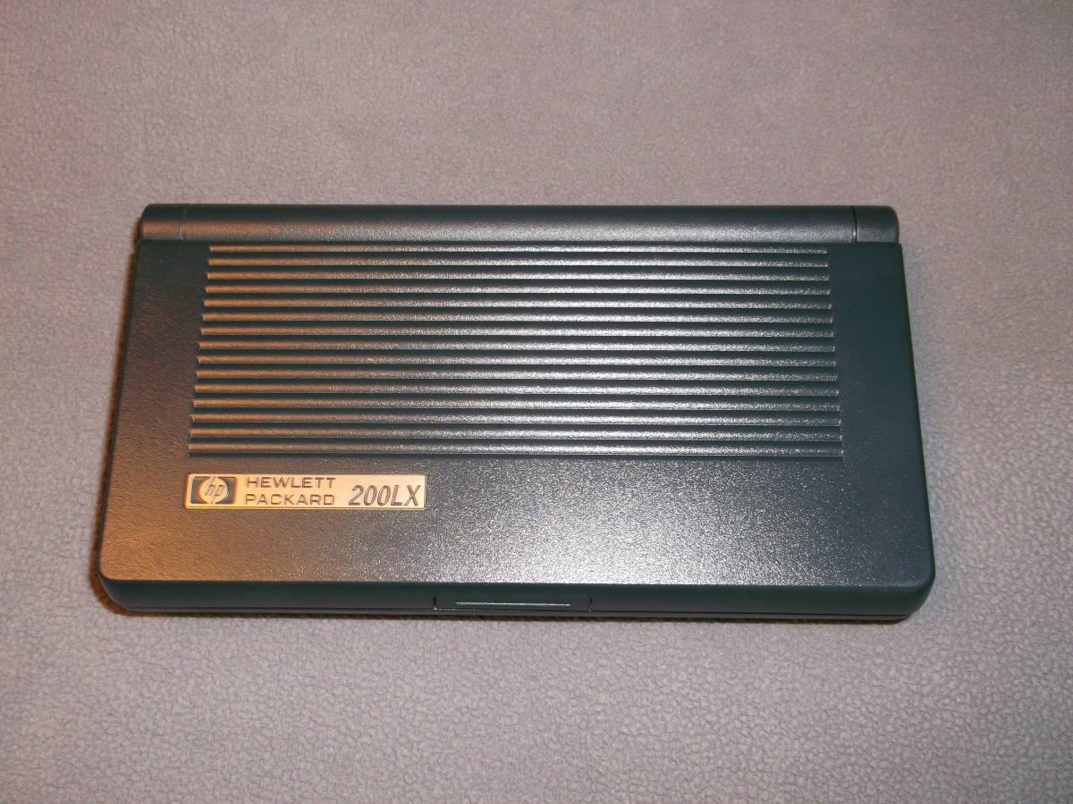 保存品☆Palmtop PC HP200LX(F1216A ABJ) 4MB RAM_画像3
